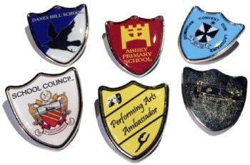 Custom Design Shield Badges